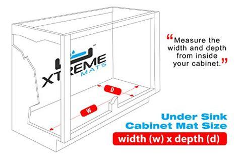 Xtreme Garage Storage Cabinet Reviews Xtreme Mats Sink Kitchen Cabinet Mat 33 38 X 21 12