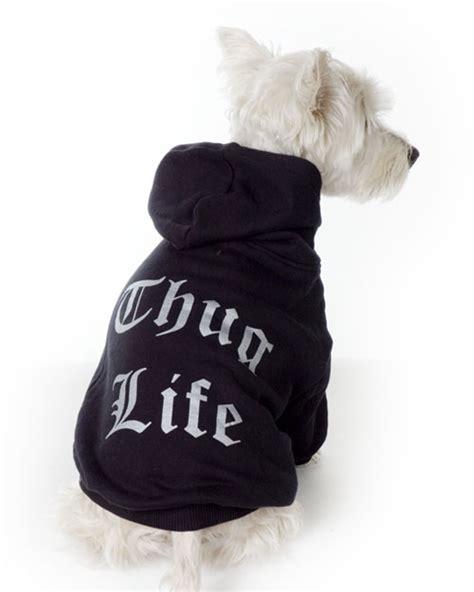 puppy hoodies black thug hoodie sweatshirt