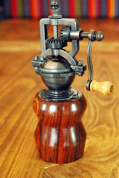 Handcrafted Pepper Mill - wood pepper mill handmade vintage style cocobolo wood