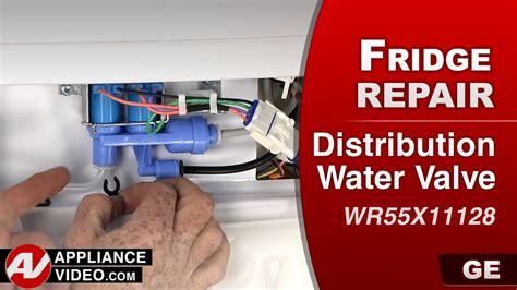 Water Dispenser Is Leaking ge pfe27ksdss profile refrigerator appliance