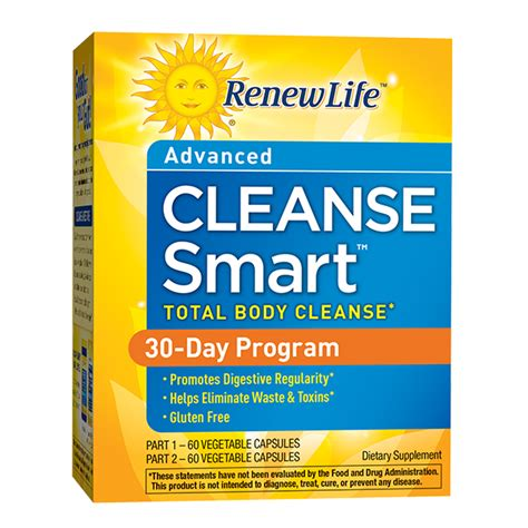 Fiber Care Fiber Cleanse 2 Day Detox by Cleanse Smart 30 Day Cleanse Herbal Cleanse
