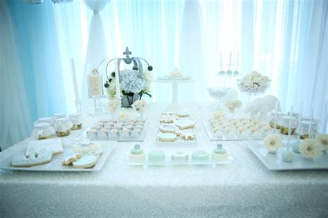 snow themed decorations kara s ideas snow princess themed birthday via