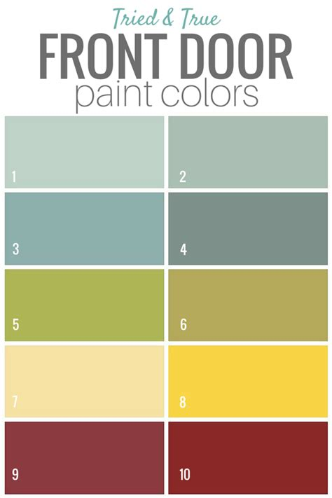 exterior door paint colors front door paint colors adding curb appeal reader
