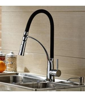 contemporary 21 quot pull down spray kitchen sink faucet modern design single handle pull down kitchen sink faucet