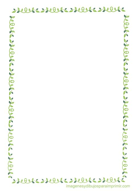 flores de hojas para imprimir bordes con hojas para imprimir bordes pinterest