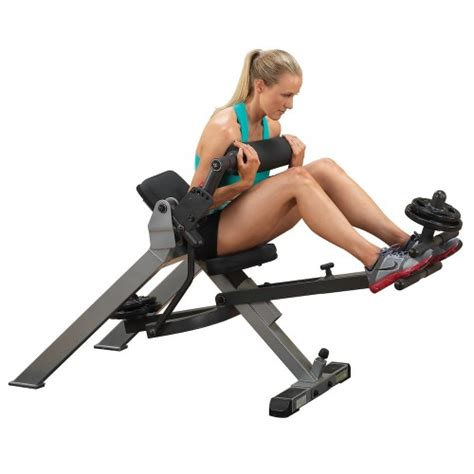 recumbent ab bench buy body solid semi recumbent dual ab bench gab350 price