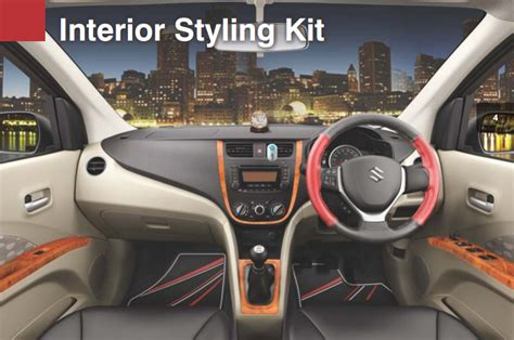 cost of interior stylist maruti genuine accessories for celerio with price list in india