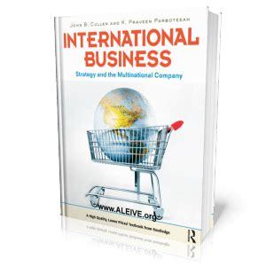Mba International Business Strategy by International Business International Business Strategy