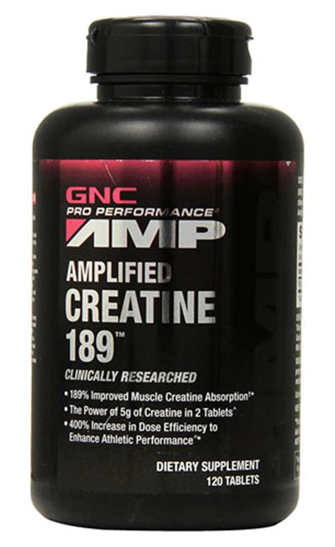 creatine supplements gnc gnc lified creatine 189 supplement review