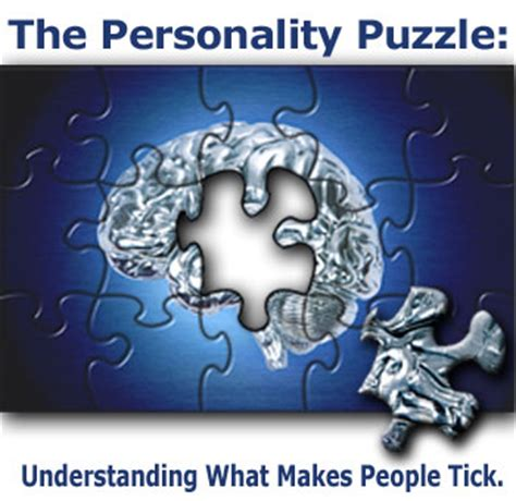 Book Review The Personality Puzzle Understanding What