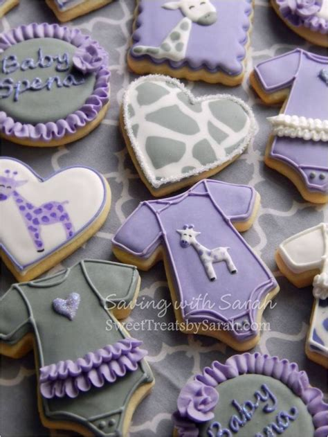 Purple And Brown Baby Shower by 17 Best Ideas About Baby Shower Giraffe On