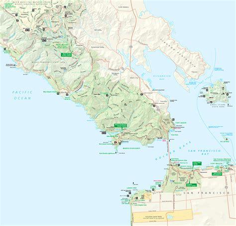 san francisco map presidio map of presidio san francisco