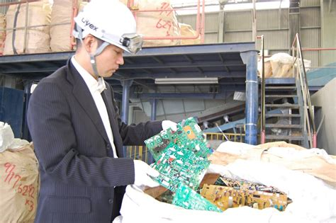 japan recycles rare earth minerals   electronics
