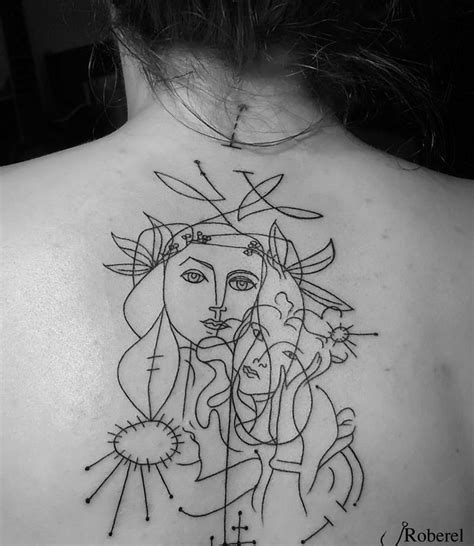 artsy tattoos get artsy with these picasso inspired tattoos of a