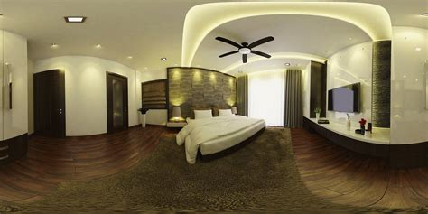 360 interior design bedroom in reality 360