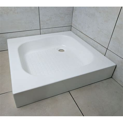 shower tray classic square shower tray 610mm x 610mm