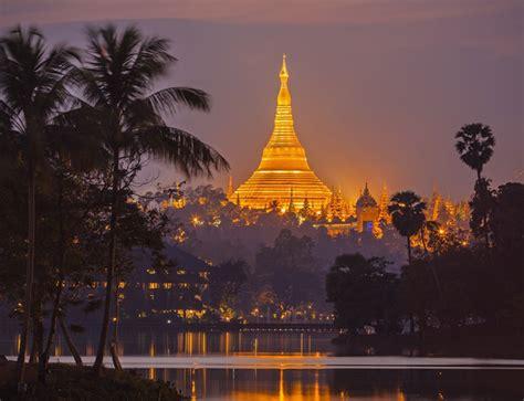 Myanmar Burma Calend 2018 Yangon Evening Tour With Dinner Semester At Sea