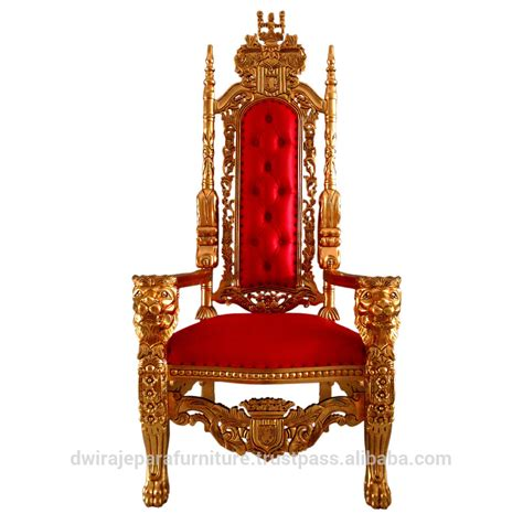 antique king throne chair baroque luxury style furniture chair throne stock vector