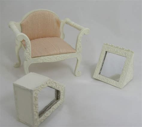 shoe floor mirror kit dollhouse miniature ladies shoe shop