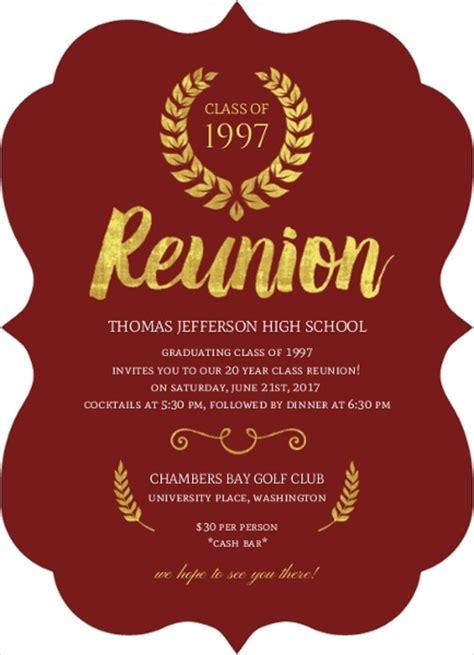 reunion invitation design vector 10 reunion invitation templates free editable psd ai
