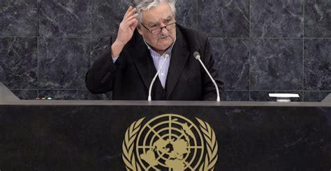 jos mujica presidente de uruguay en la onu el discurso mujica inspira a la onu animal pol 237 tico