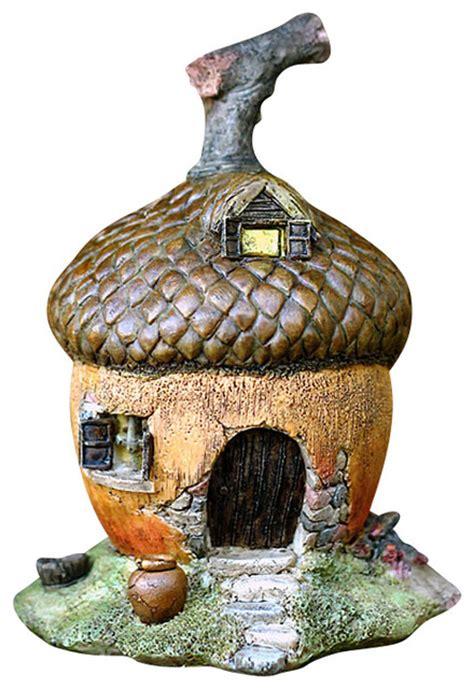 acorn dolls house miniature fairy garden acorn fairy house traditional