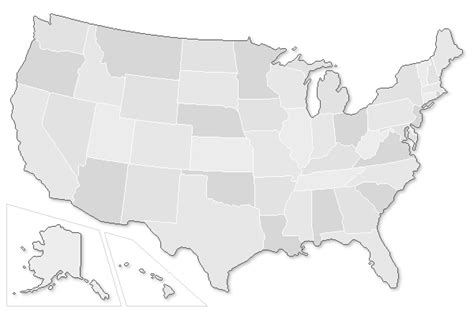 usa map highlight states the exit light co united states codes and regulations