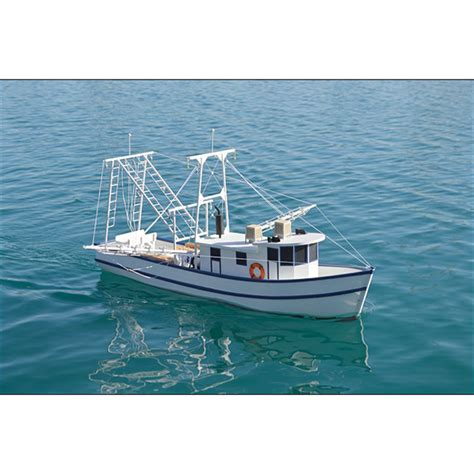 rusty the shrimp boat kit 1 24 scale - The Shrimp Boat