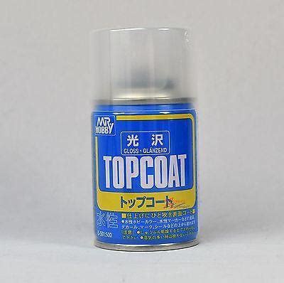 Premium Top Coat Flat Mr Hobby mr hobby top coat gloss 86ml sealant spray b501 gsi creos paint sealan usa gundam store