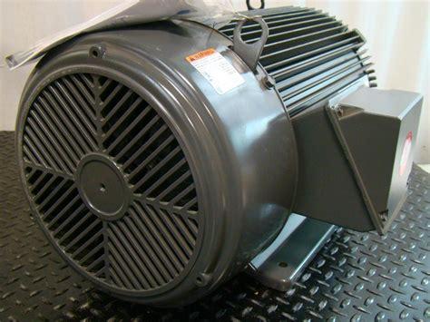 Emerson Electric Motors by Emerson Electric 30hp Motor 1765rpm 208 230 460v U30e2d