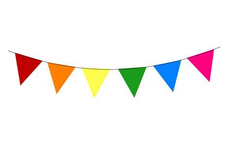 Bunting Flag Bendera Dekorasi Pesta rainbow bunting clip clipart panda free clipart images