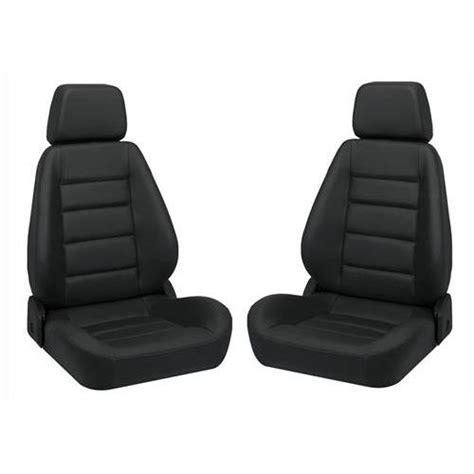 corbeau sport seat black vinyl corbeau sport vinyl seat pair black lmr