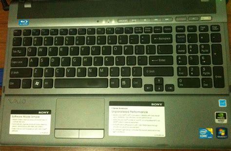 Keyboard Laptop Menyala 6 bulan penggunaan vaio vpc f115fm aespe s words