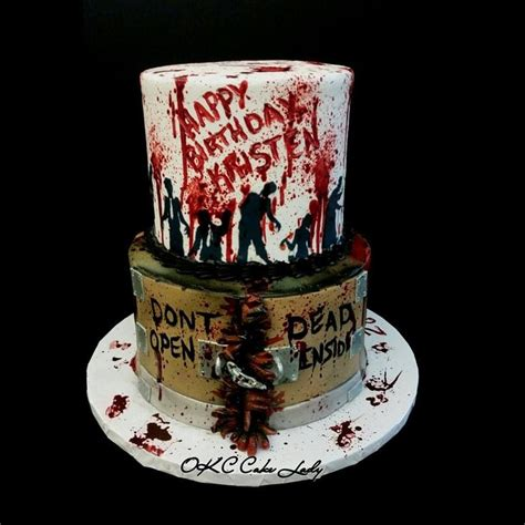 Walking Dead Cake Decorations by 25 Best Ideas About Walking Dead Birthday Cake On