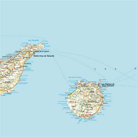 Layout Map Español | islas canarias map