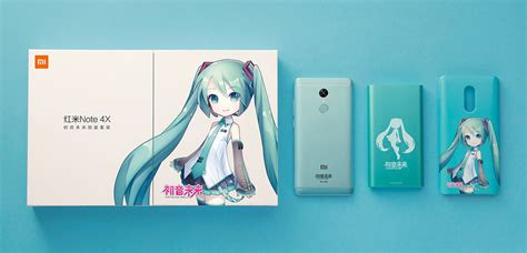 Limited Edition 3d Intip Papa For Xiaomi Redmi 4x xiaomi launches a special edition redmi note 4x for hatsune miku fans android central