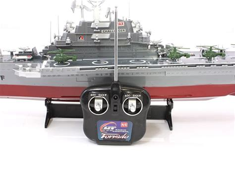 radio controlled toy boats uk ht2878 rc model navy aircraft carrier radio controlled