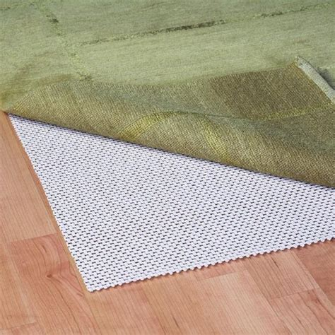 cushioned rug pad grip it cushioned non slip rug pad for rugs on surface floors 12 by 15 reviews