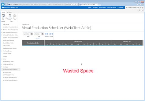 wasted space tips for developing a javascript add in for dynamics nav