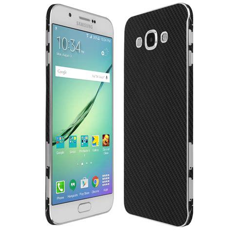 Samsung A8 Skinomi Techskin Samsung Galaxy A8 Carbon Fiber Skin Protector