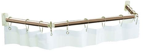 Rv Shower Rod by Stromberg Carlson Extend A Shower Shower Curtain Rod For Rvs 54 Quot To 60 Quot Bronze Stromberg