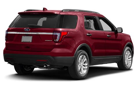 suv ford explorer 2017 ford explorer price photos reviews features