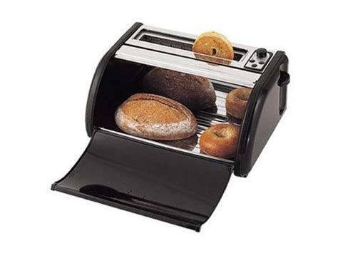 Toaster Box westinghouse black 2 slice wide toaster with toaster box