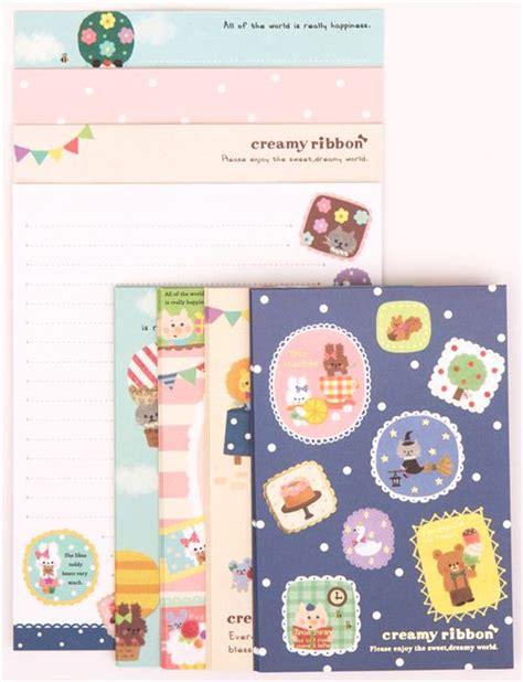 Set Ami Cat set de papiers 224 lettres motif animaux lapin g 226 teau