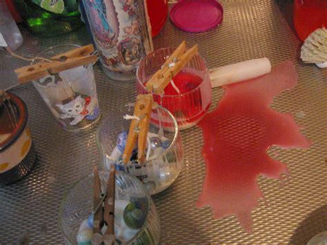 Kaarsvet Uit Glas by Kaarsen Maken Restanten Kaarsvet