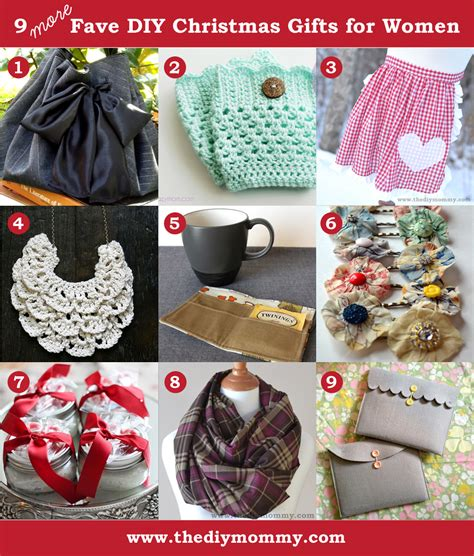 a handmade christmas more diy gifts for women the diy mommy