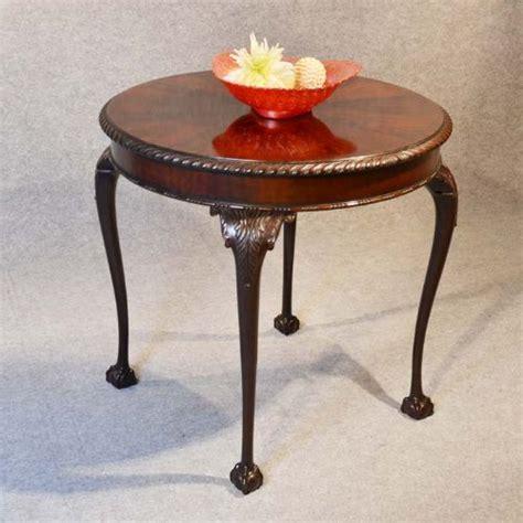 antique chippendale tea side table