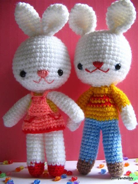 pin easter bunny free patterns and bunny motifs on pinterest free bunny amigurumi pattern crochet easter