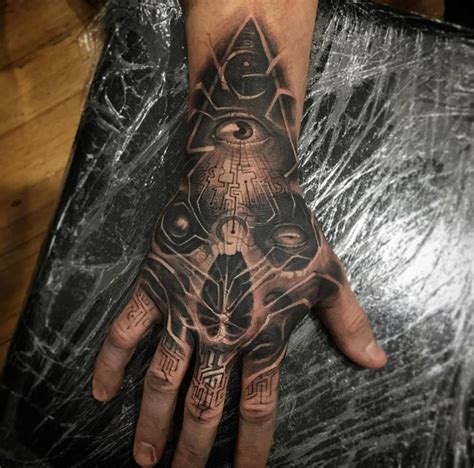 cyber tattoo designs cyber illuminati best design ideas