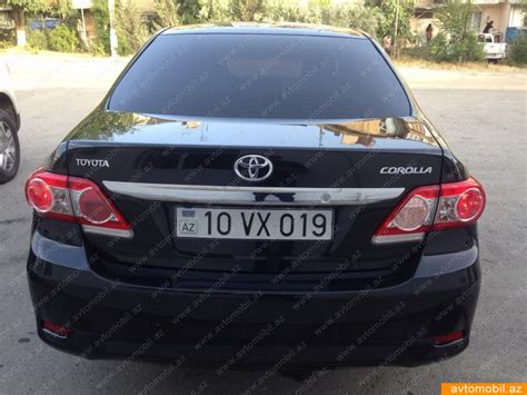 Toyota Corola Second Toyota Corolla Second 2013 20500 Gasoline